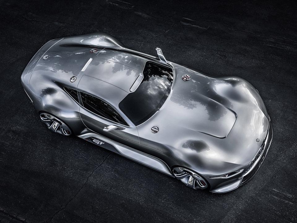 гладкие поверхности Mercedes-Benz AMG Vision