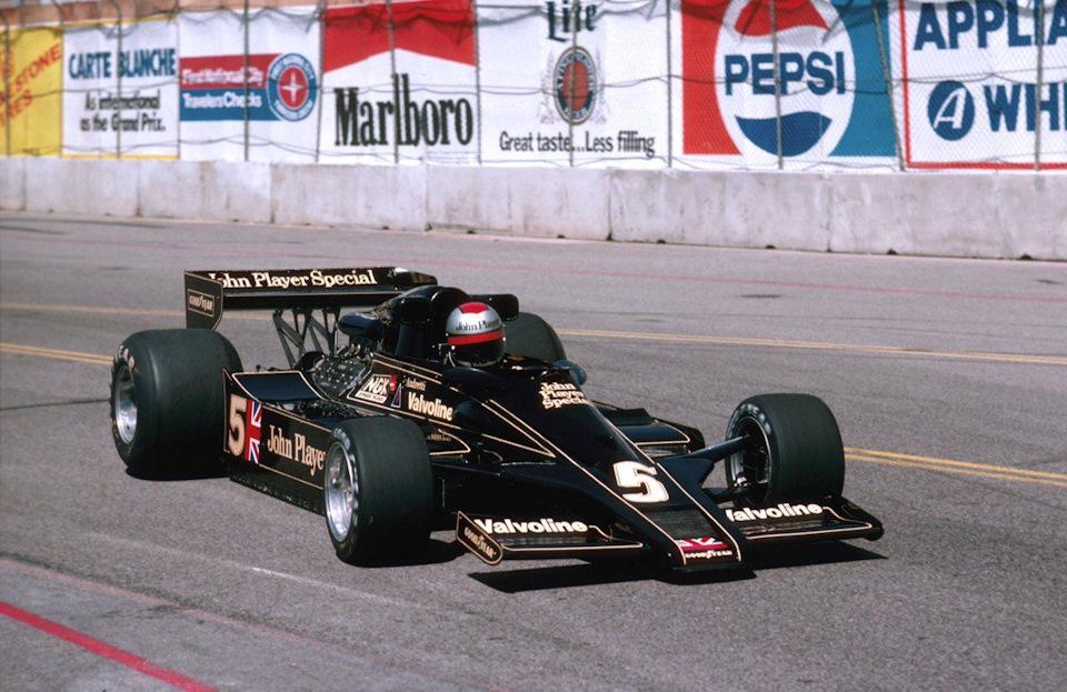 Марио Андретти на Гран При США-Запад '77