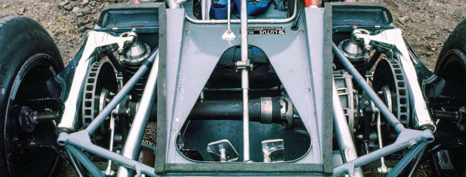 Передний мост Lotus 63 Ford