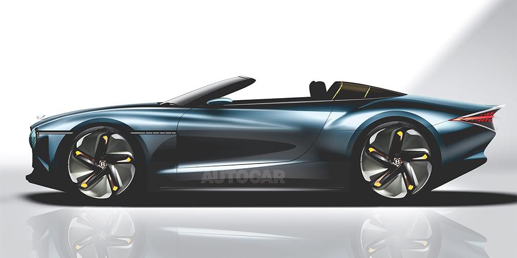 Кабриолет Bentley
