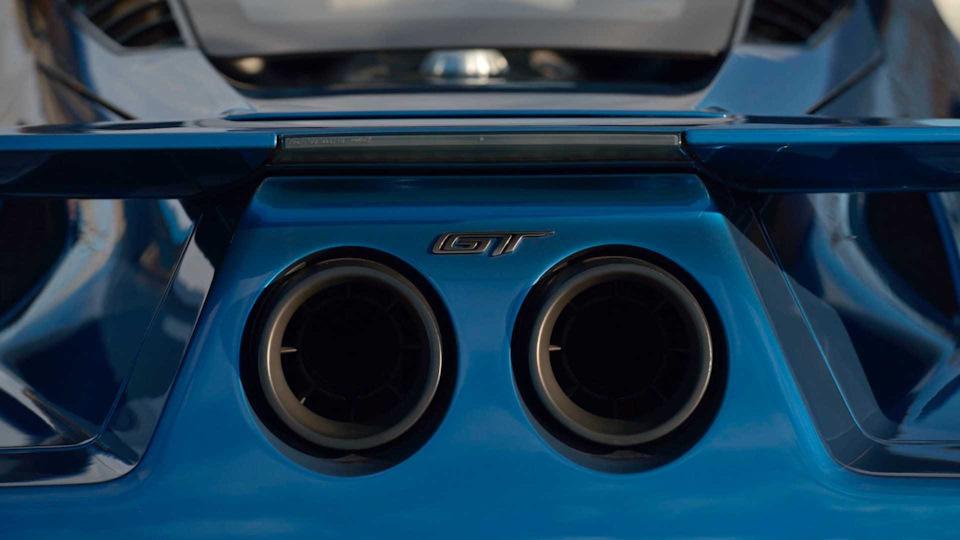 выхлоп Ford GT