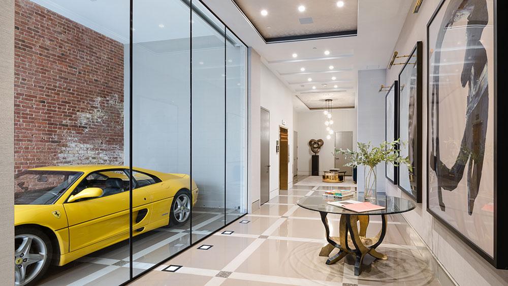 гараж и вход