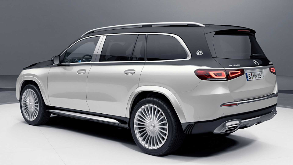 Maybach GLS характеристики и цена