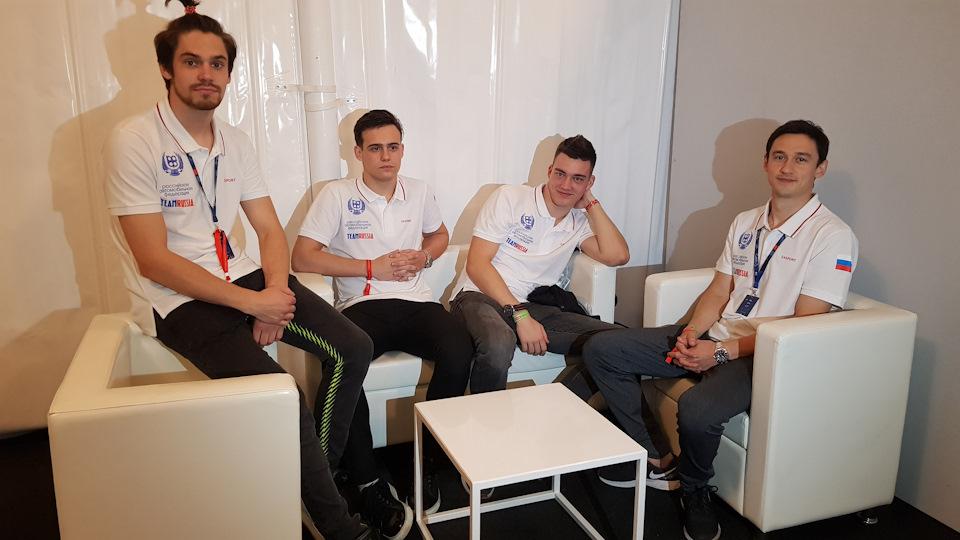 Клим Гаврилов, Павел Буланцев, Денис Булатов, Ринат Салихов