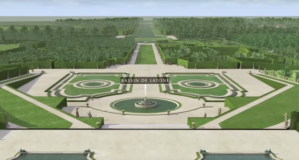 двор версальского дворца