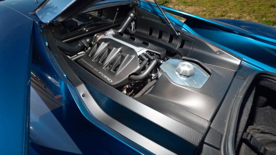 двигатель Ford GT