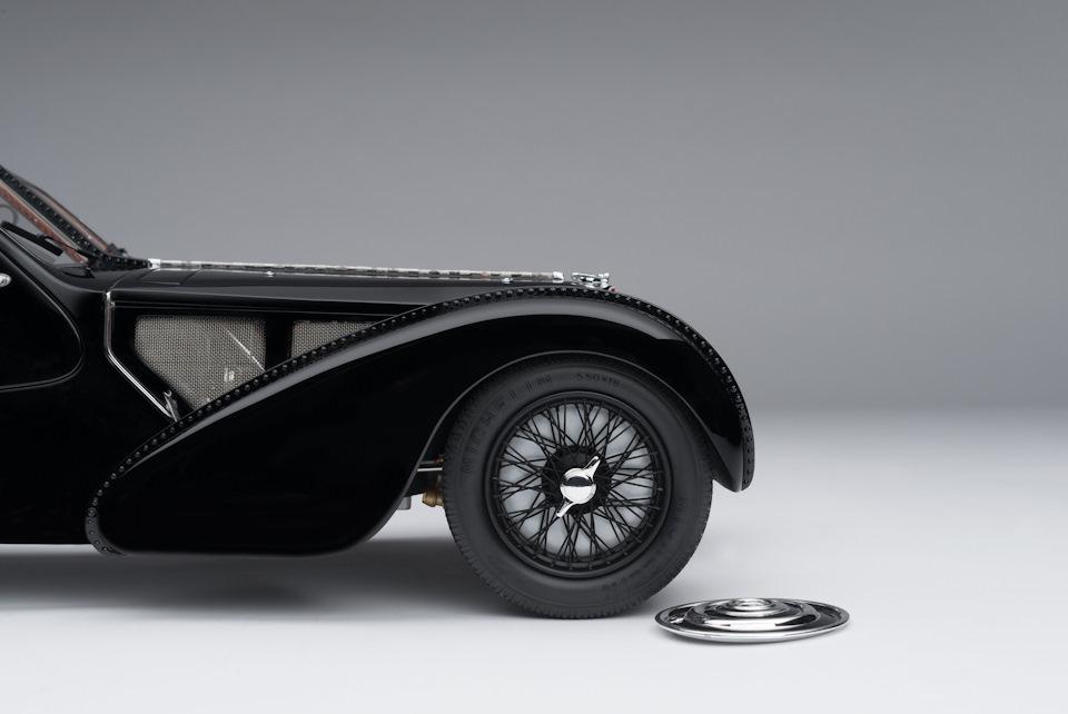 Bugatti Type 57 SC Atlantic La Voiture Noire детали