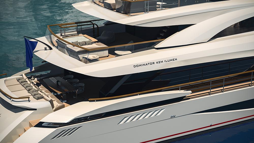 яхта Dominator 42M Ilumen