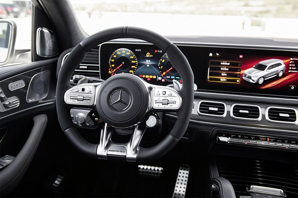 Mercedes GLS интерьер