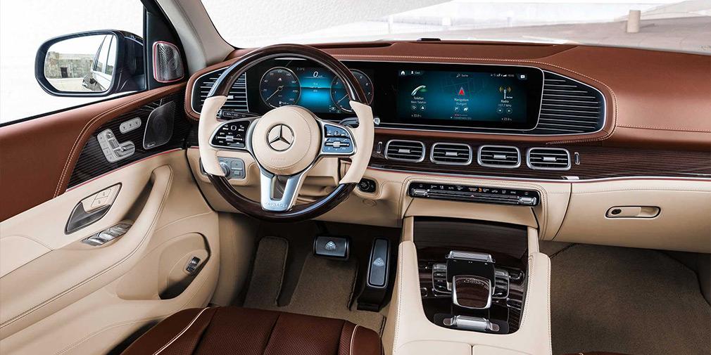 салон Mercedes GLS майбах