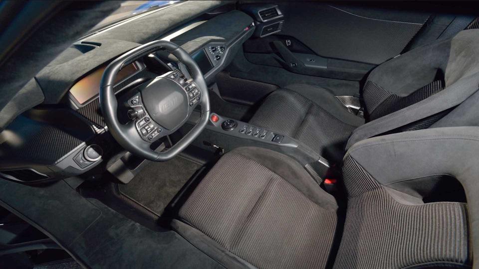 интерьер Ford GT