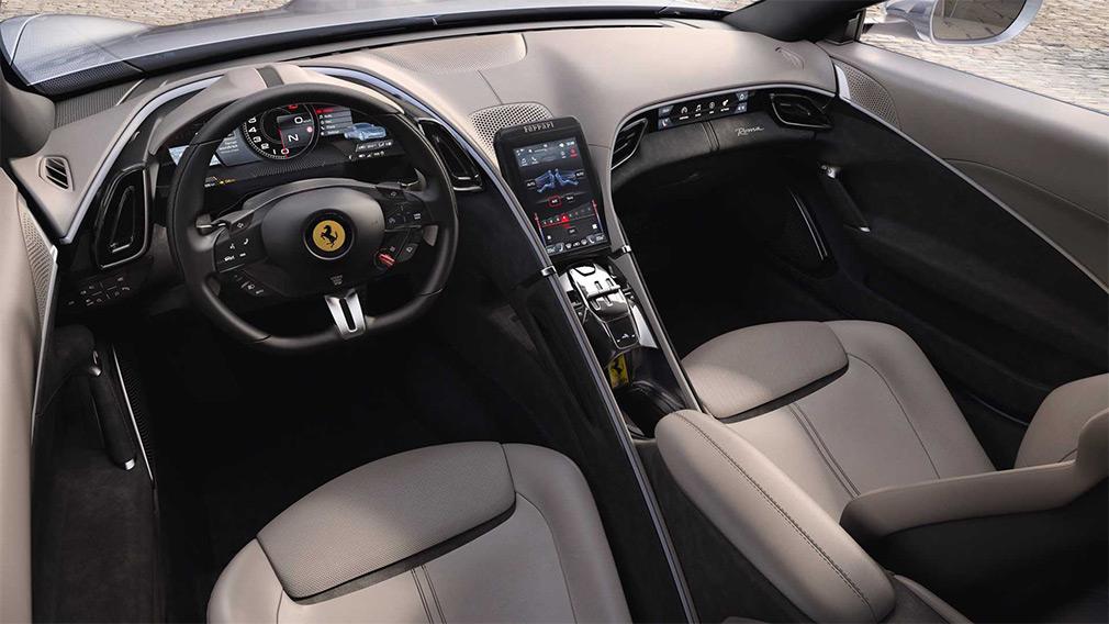 интерьер Ferrari Roma