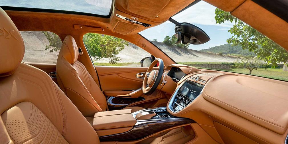 итерьер Aston Martin DBX
