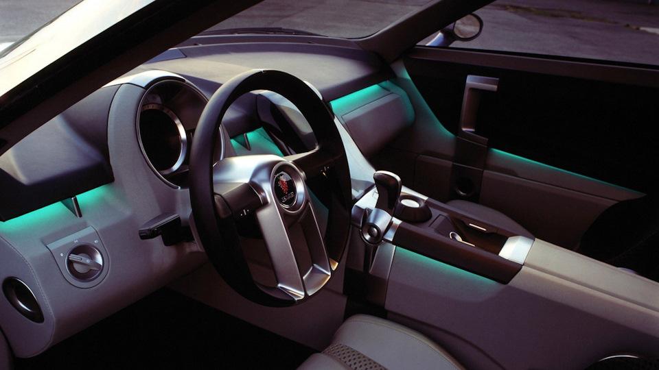 интерьер Saab 9X