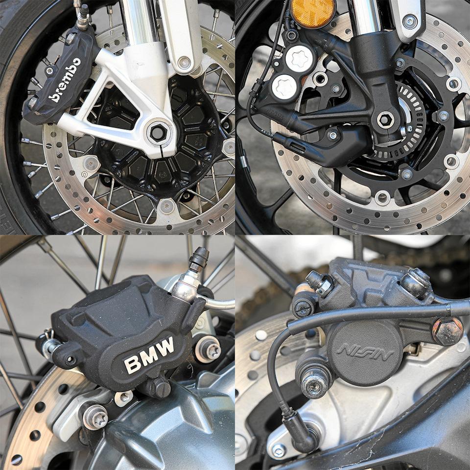тормоза BMW и Yamaha