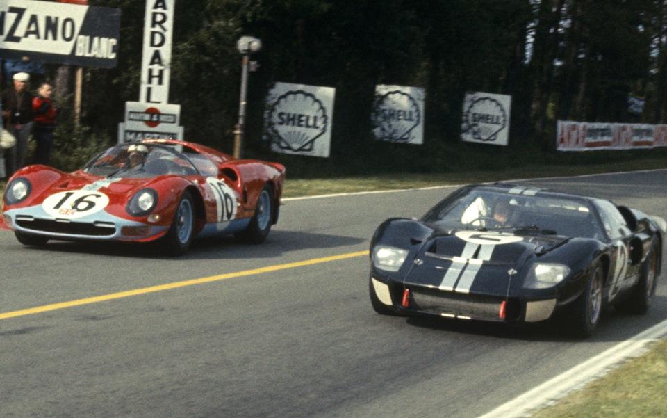 Ford и Ferrari в Ле-Мане 1966 года