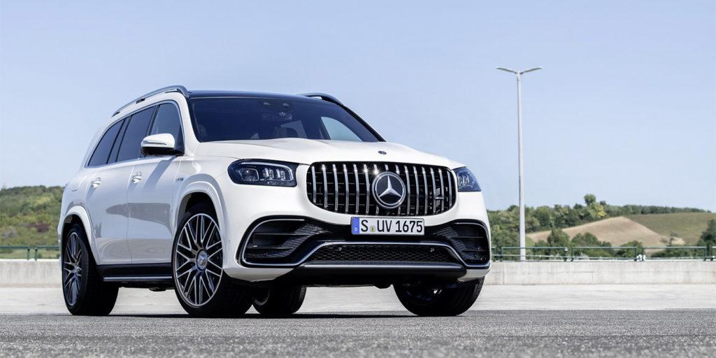 Mercedes GLS амг