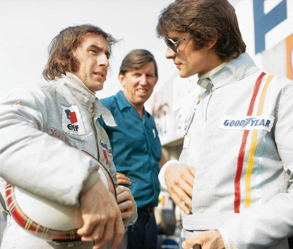 Tyrrell начала 70-х