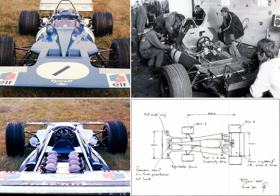 Tyrrell 001 Ford