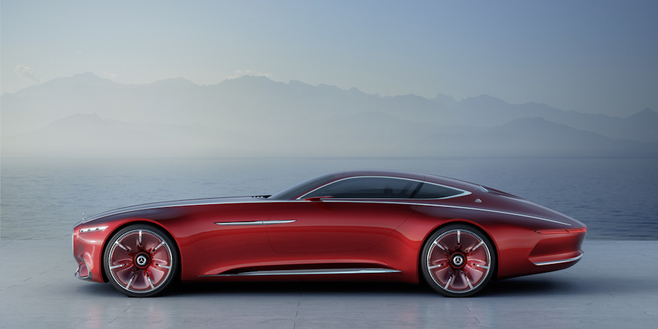 Vision Mercedes-Maybach 6 профиль