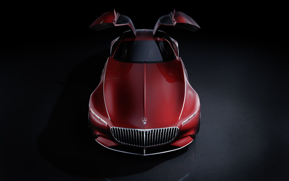 Vision Mercedes-Maybach 6 фото