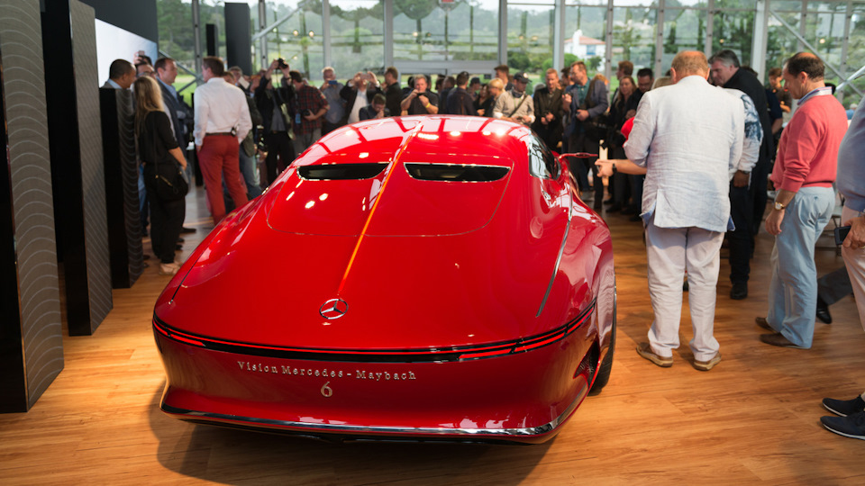 премьера Vision Mercedes-Maybach 6