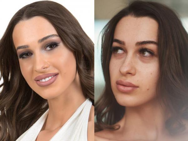 Участницы «Мисс Вселенная» без макияжа
