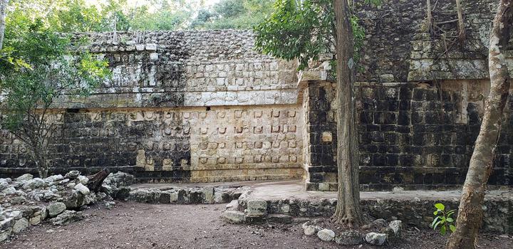 дворец цивилизации майя