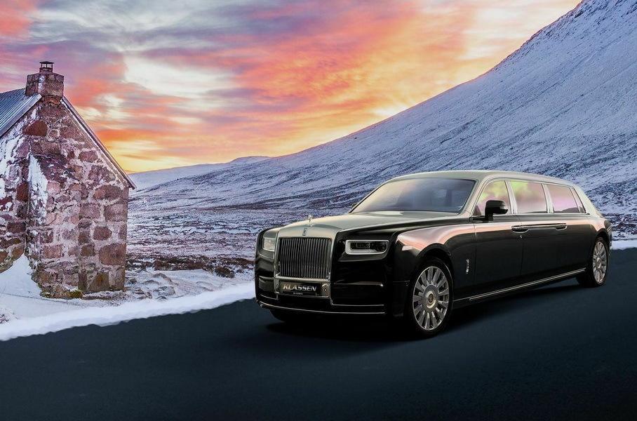 бронированный Rolls-Royce Phantom