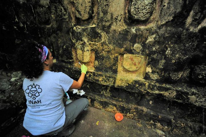 дворец цивилизации майя фото