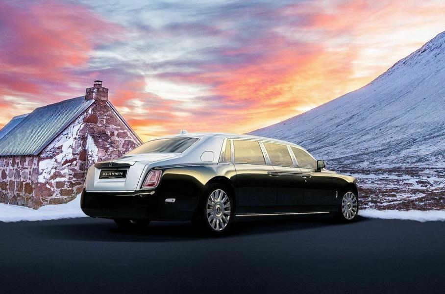 удлиненный Rolls-Royce Phantom