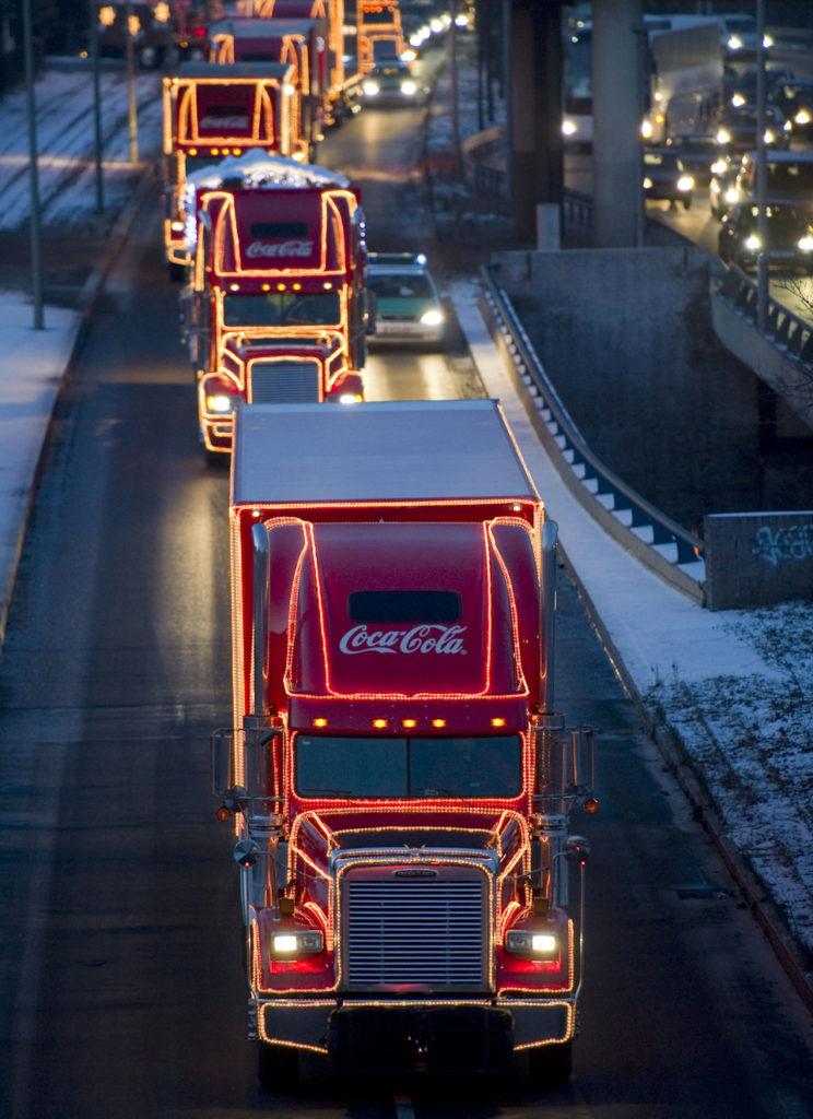 Coca-Cola автопоезд