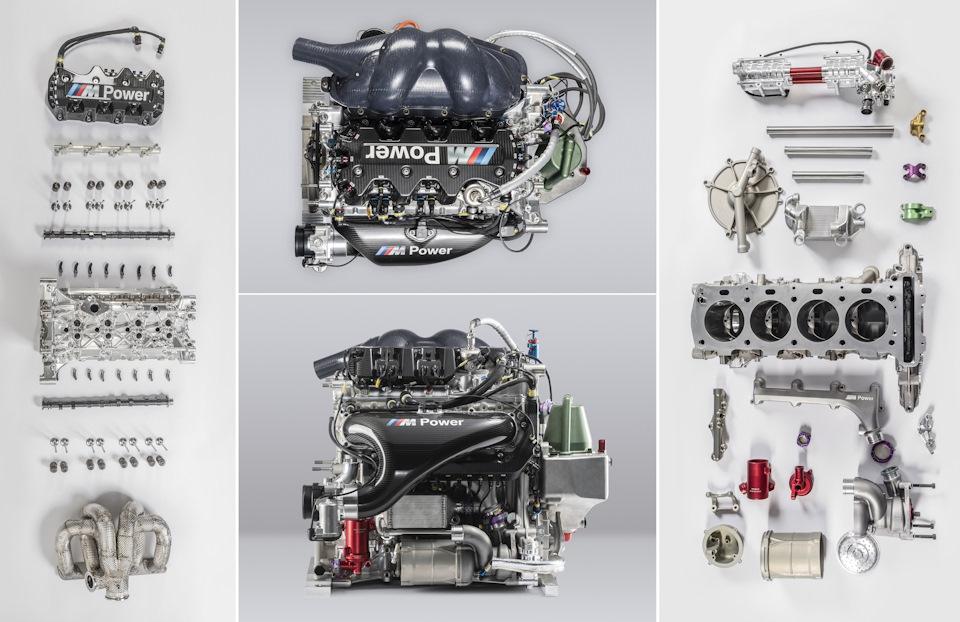 Двигатель BMW P48 Turbo