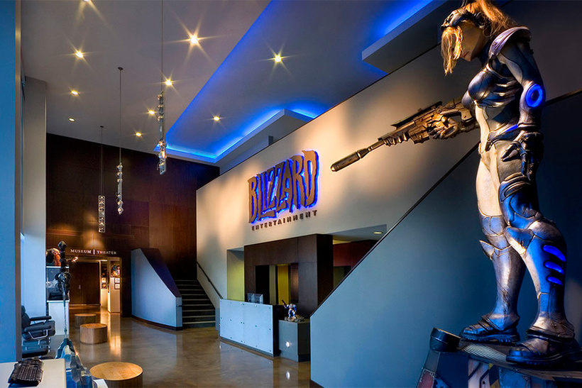 офис Blizzard Entertainment