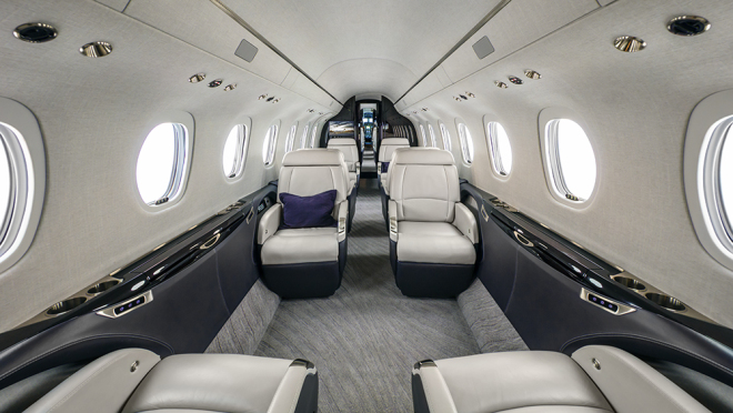 Cessna Citation Longitude салон
