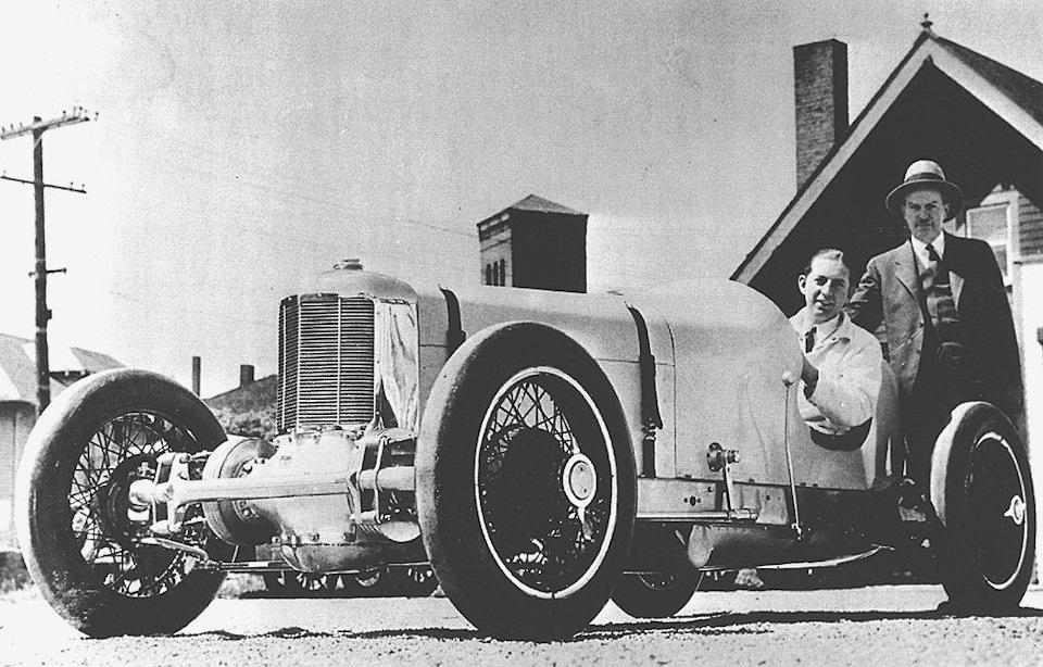 Переднеприводный Miller 1924 года.