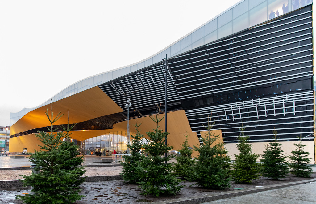 Oodi Helsinki Central библиотека