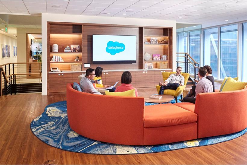 офис Salesforce