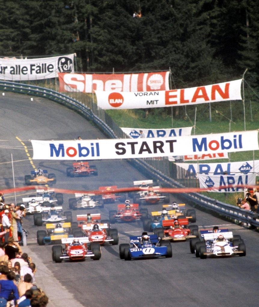 Старт Гран При Австрии 1971 года
