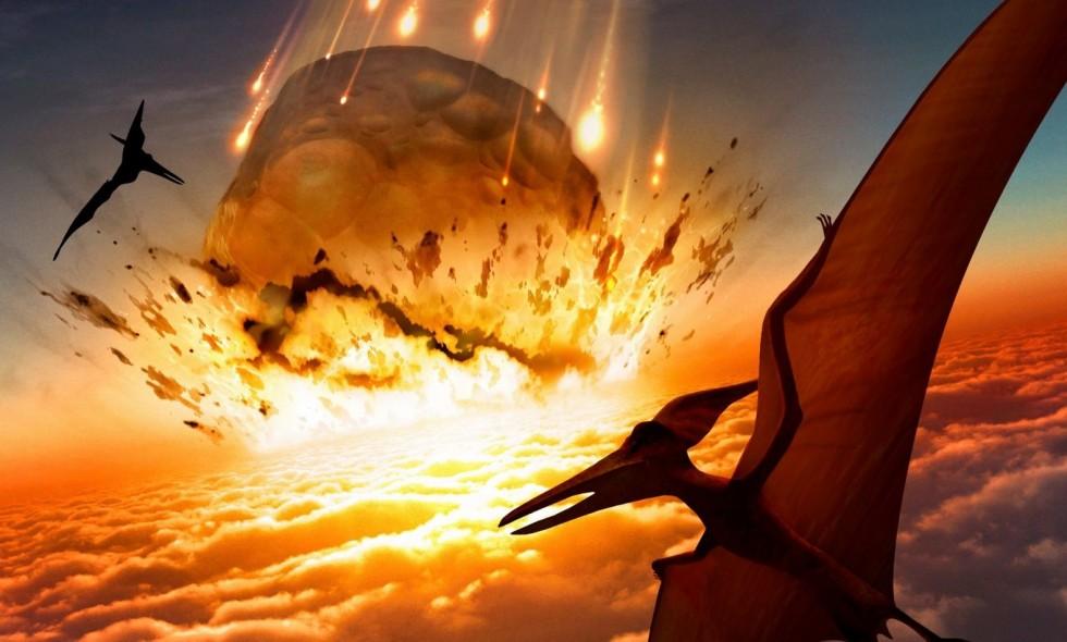 причину вымирания динозавров
