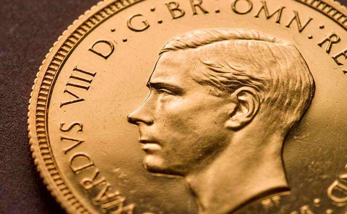 Монета с портретом Эдуарда VIII