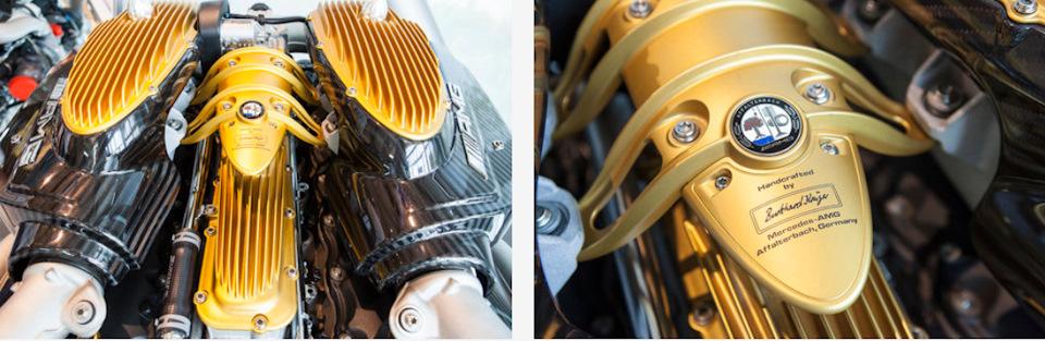 Современные двигатели AMG