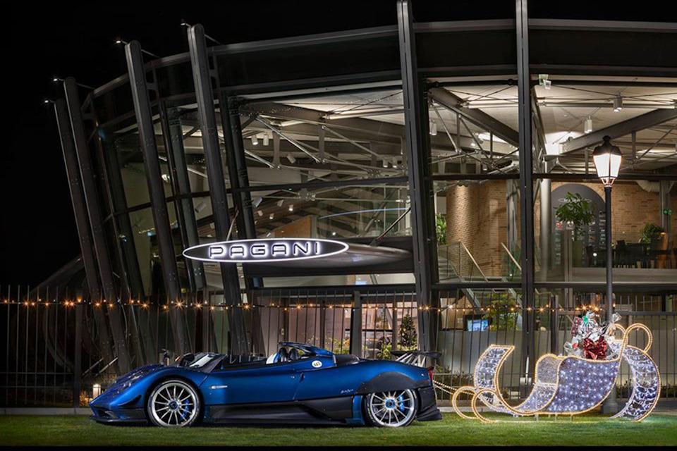 музей автомобилей Горацио Пагани