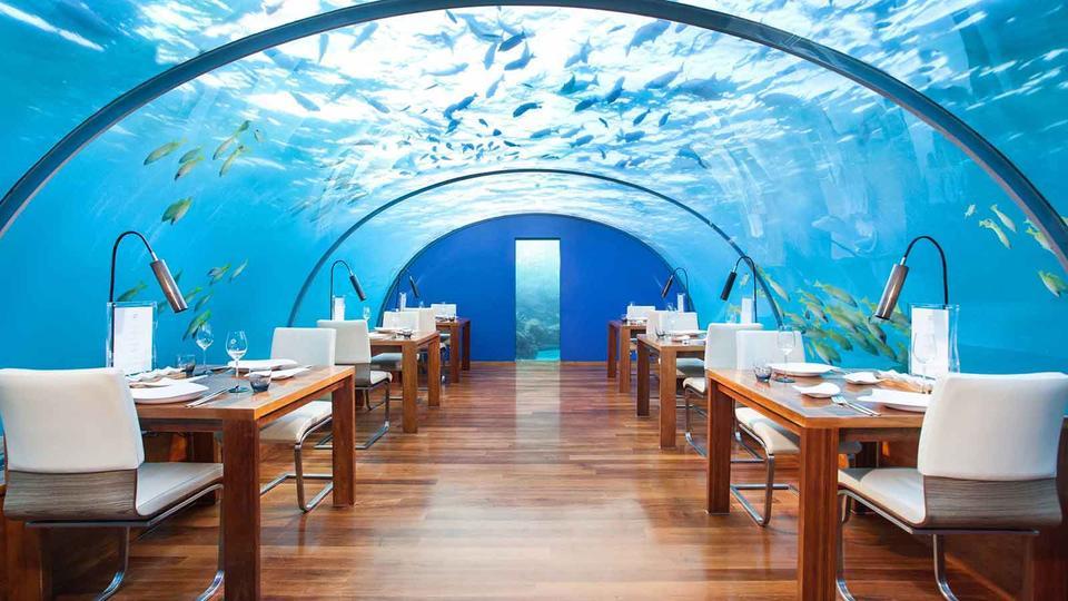 Подводные рестораны