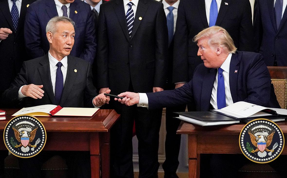 Китаем и США