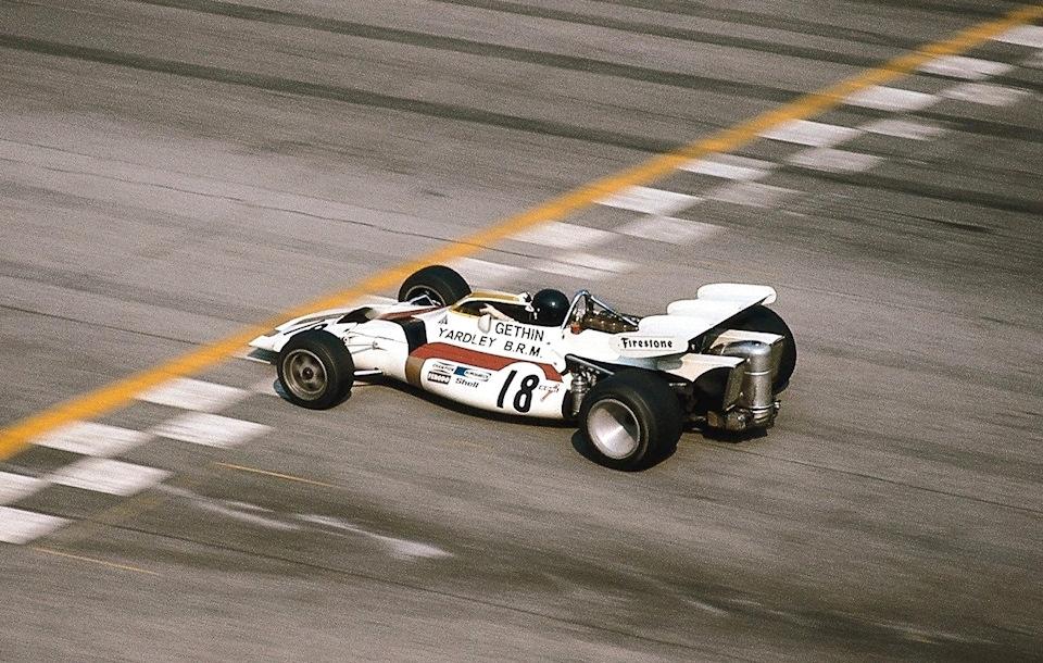 Питер Гетин на BRM P160 и победа на Гран При Италии 1971 года