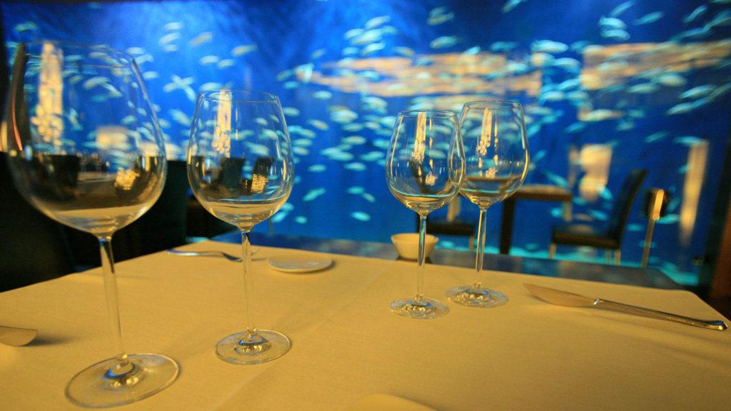 ресторан L'Oceanogràfic Submarino