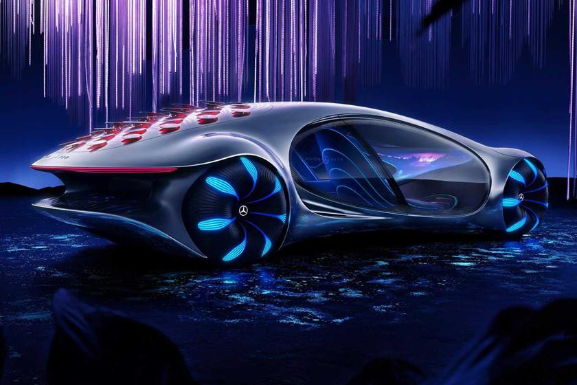 фото Mercedes-Benz Vision AVTR