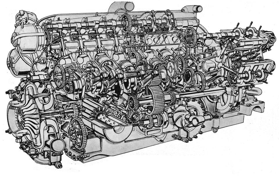 Двигатель BRM V16 – один из самых технически изощренных проектов в истории гонок Гран При