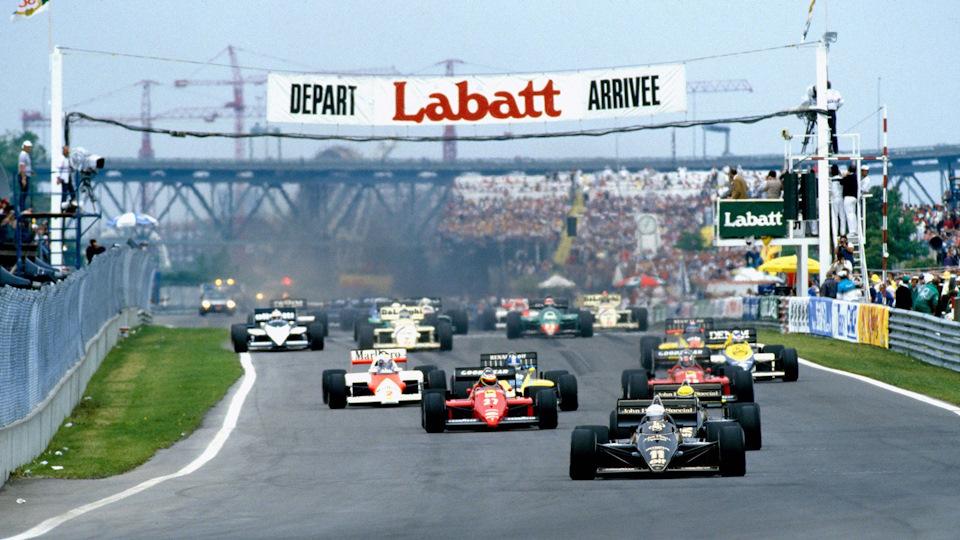 Старт Гран При Канады 1985 года